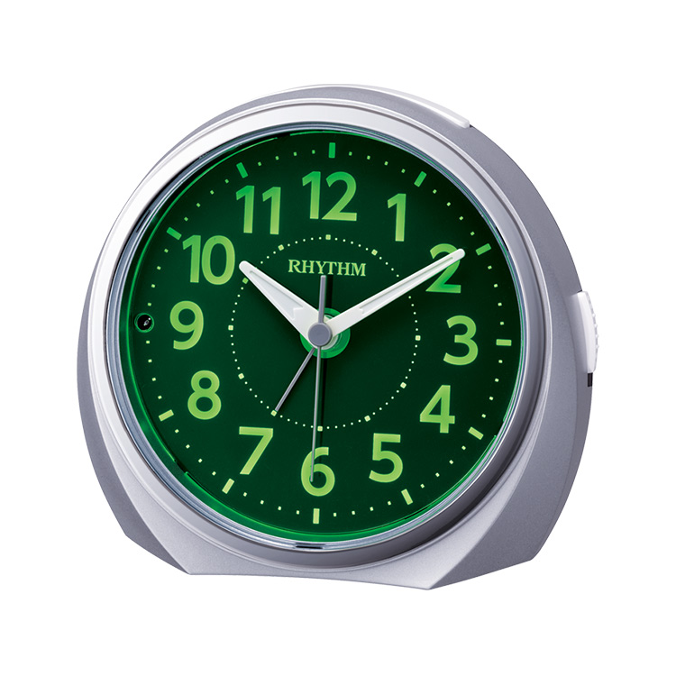 スーパーSALE:輸入時計MAX70%OFF アデッソMAX40%OFF リズム時計 電子音目覚まし時計 高い素材 上質 ルークR666 8RE666SR19 夜光る 蓄光 置時計 めざまし時計