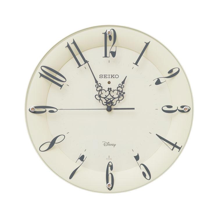 掛け時計 SEIKO インテリア時計 電波時計 ミッキー ミニー FS506C シンプル セイコー 大人ディズニー お取り寄せ