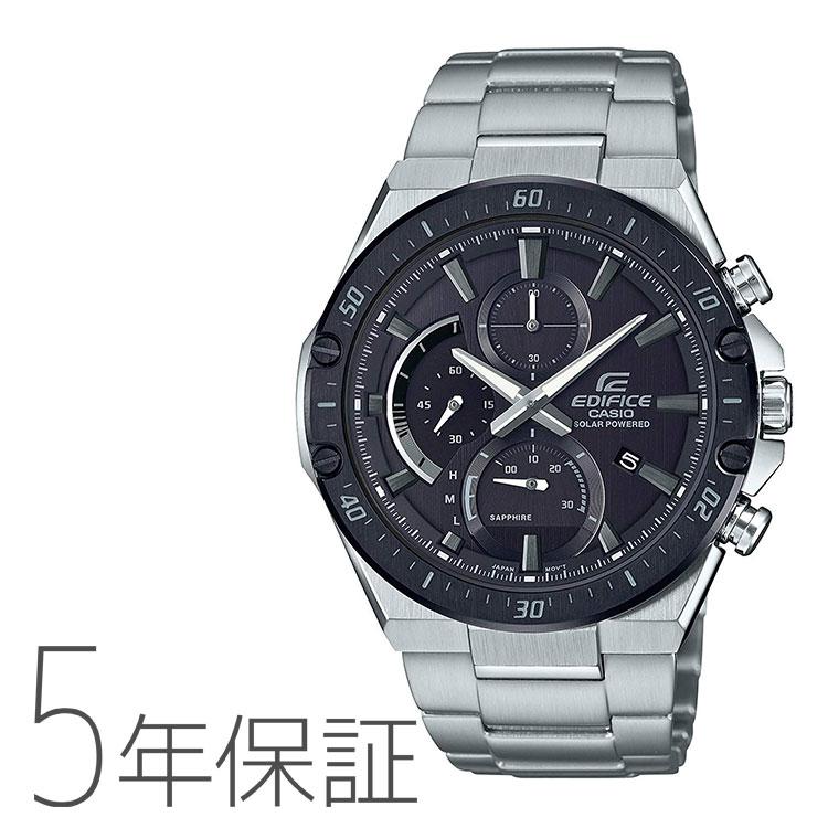 エディフィス EDIFICE カシオ CASIO ソーラーシリーズ Slim Line クロノグラフ メンズ 腕時計 EFS-S560YDB-1AJF