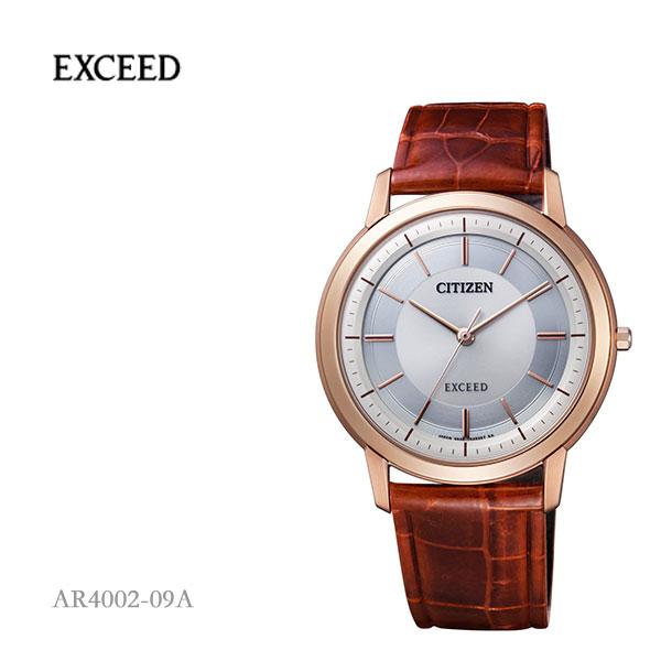 5年保证居民西铁城EXCEED ekushidoekodoraibu手表AR4002-09A