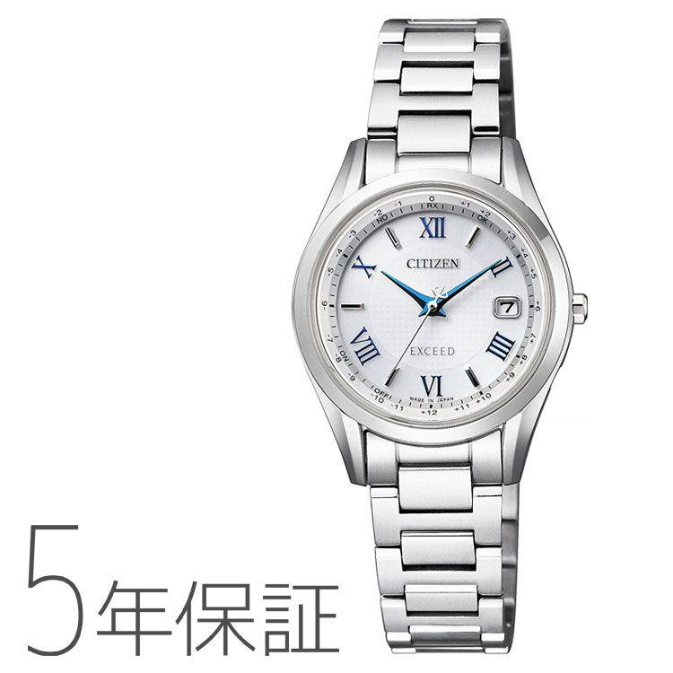 シチズン CITIZEN エクシード EXCEED エコ・ドライブ 電波時計 ペア レディース ES9370-62A 腕時計