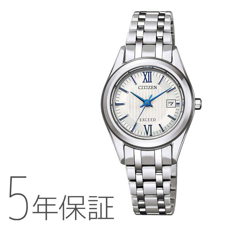 エクシード EXCEED シチズン CITIZEN チタン エコ・ドライブ ペア レディース 女性用 腕時計 FE1000-51A お取り寄せ