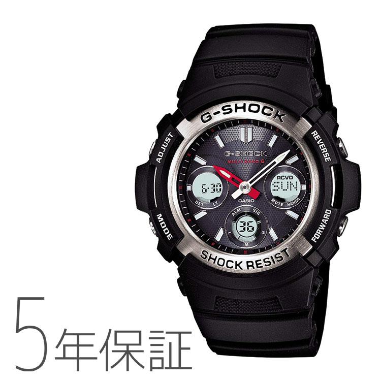 カシオ CASIO g-shock Gショック 電波ソーラー AWG-M100-1AJF 腕時計 メンズ