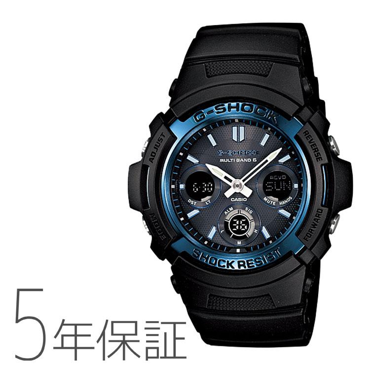 カシオ CASIO g-shock Gショック 電波ソーラー AWG-M100A-1AJF 腕時計 メンズ