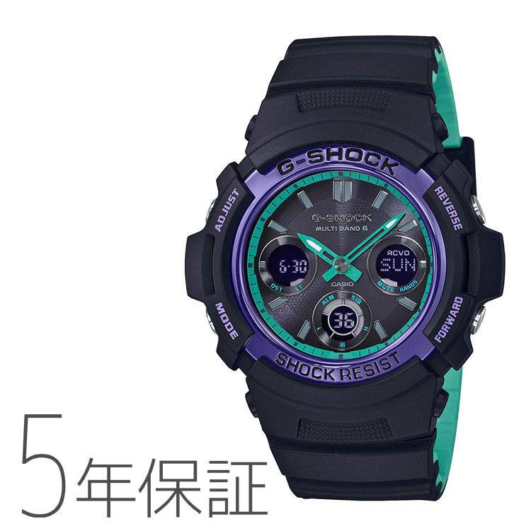 G-SHOCK カシオ CASIO タフソーラー 電波時計 メンズ 腕時計 AWG-M100SBL-1AJF