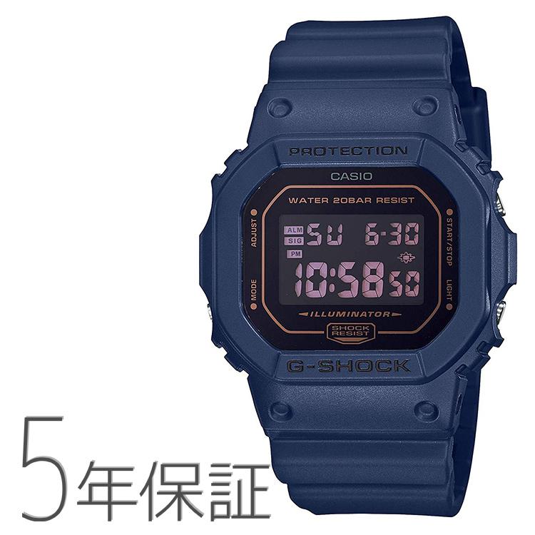 G-SHOCK Gショック DW-5600BBM-2JF CASIO カシオ マット デジタル スクエアフェイス ネイビー 紺色 腕時計 メンズ
