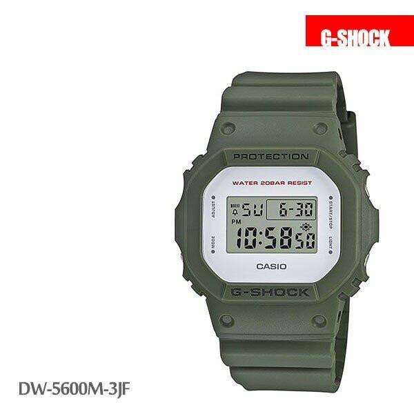 カシオ CASIO g-shock Gショック 腕時計 ミリタリーカラー DW-5600M-3JF メンズ