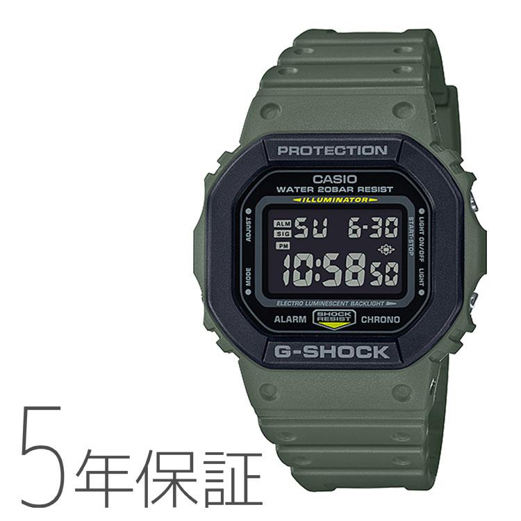 G-SHOCK カシオ CASIO スクエアフェイス Utility Color メンズ 腕時計 DW-5610SU-3JF