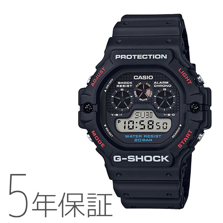 G-SHOCK Gショック カシオ CASIO 黒 腕時計 メンズ DW-5900-1JF