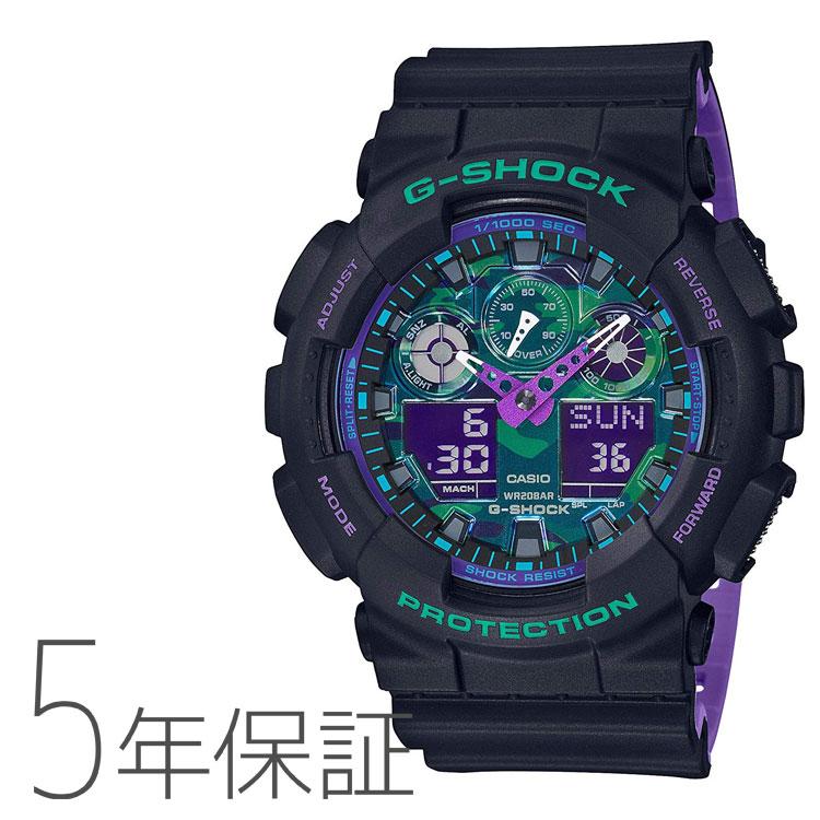 G Shock Casio Casio Nostalgic Sports Taste Men Watch Ga 100bl 1ajf