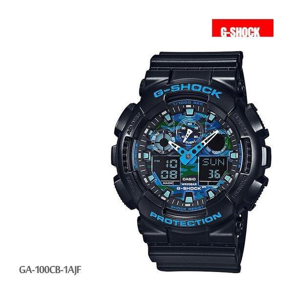 カシオ CASIO g-shock Gショック 腕時計 GA-100CB-1AJF メンズ