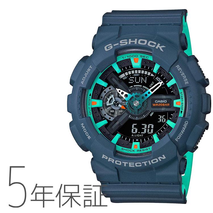 G-SHOCK Gショック ネイビーブルー カシオ CASIO 腕時計 メンズ GA-110CC-2AJF