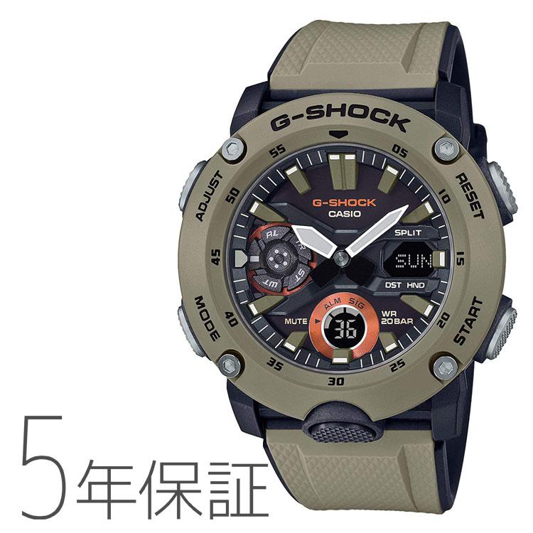 G-SHOCK カシオ CASIO ミリタリーテイスト メンズ 腕時計 GA-2000-5AJF