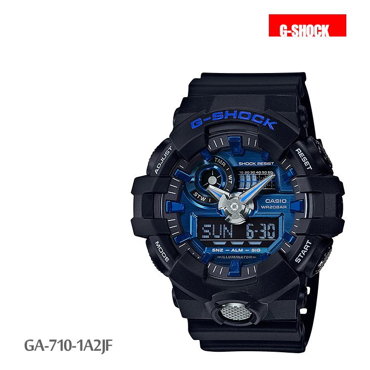 カシオ CASIO G-SHOCK Gショック ガリッシュカラー メンズ 腕時計 GA-710-1A2JF