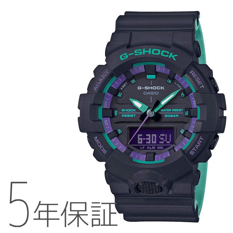 G-SHOCK カシオ CASIO レトロスポーツテイスト メンズ 腕時計 GA-800BL-1AJF