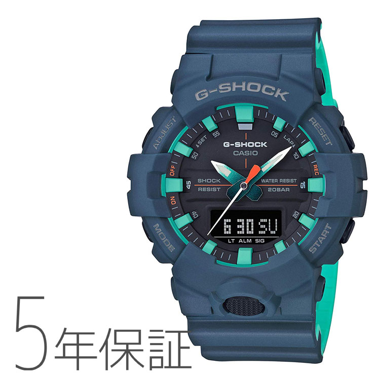 G-SHOCK Gショック ネイビーブルー カシオ CASIO 腕時計 メンズ GA-800CC-2AJF