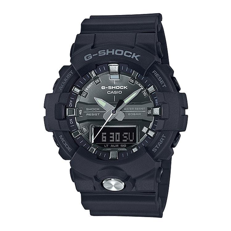 G-SHOCK g-shock Gショック GA-810MMA-1AJF カシオ CASIO ガリッシュカラー 黒 ブラック 銀色 シルバー メンズ 腕時計