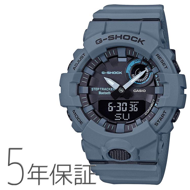 G-SHOCK g-shock Gショック GBA-800UC-2AJF カシオ CASIO G-SQUAD スマホ連携 ブルーグレー メンズ 腕時計
