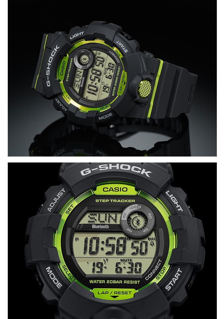 613e6f50d e-Bloom  G-SHOCK g-shock G-Shock GBD-800-8JF Casio CASIO G-SQUAD ...