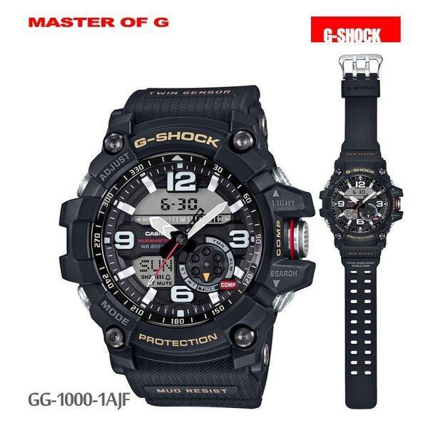 カシオ CASIO G-SHOCK Gショック g-shock マッドマスター GG-1000-1AJF 腕時計 メンズ