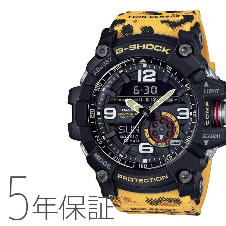 G-SHOCK G-ショック カシオ CASIO マッドマスター ヒョウ 腕時計 メンズ GG-1000WLP-1AJR