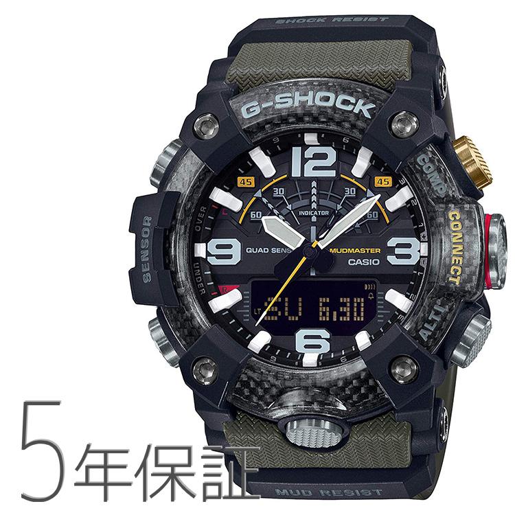 G-SHOCK Gショック GG-B100-1A3JF カシオ CASIO マスターオブG マッドマスター スマホ連携 GPS カーキ色 腕時計 メンズ