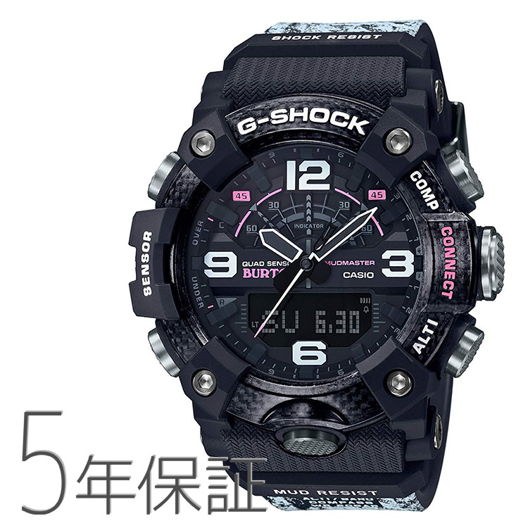 G-SHOCK Gショック GG-B100BTN-1AJR カシオ CASIO バートン BURTON コラボモデル スマホ連携 マッドマスター ブラック 腕時計 メンズ