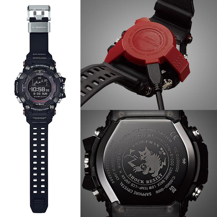 be9a038fc ... G-SHOCK G-Shock Casio CASIO range man mobile link Bluetooth GPS solar  electric ...
