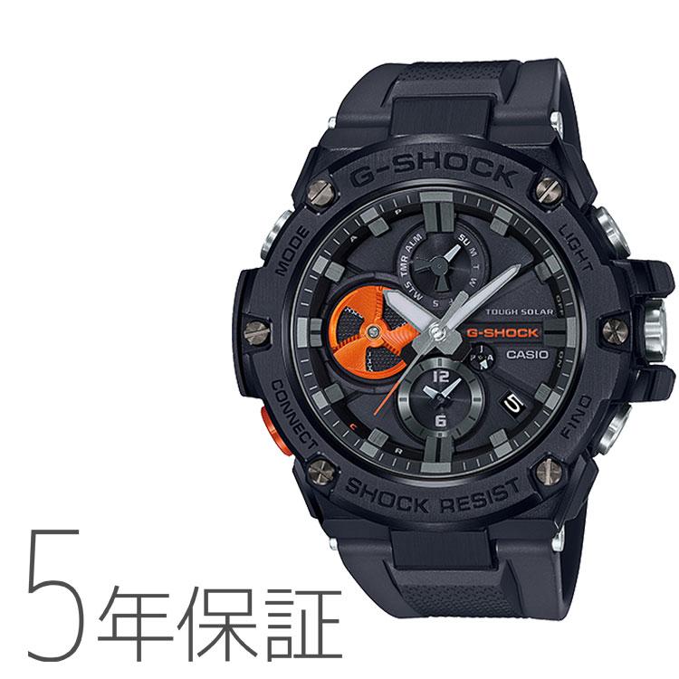 G-SHOCK カシオ CASIO タフソーラー G-STEEL モバイルリンク 腕時計 GST-B100B-1A4JF