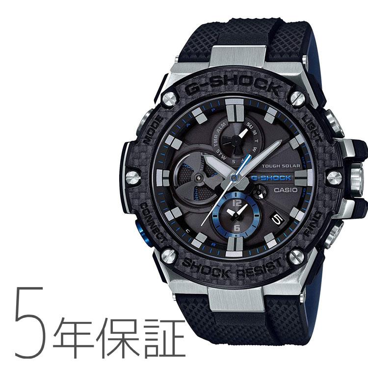 G-SHOCK Gショック GST-B100XA-1AJF カシオ CASIO G-STEEL Gスチール クロノグラフ スマホ連携機能 黒 ブラック 腕時計 メンズ