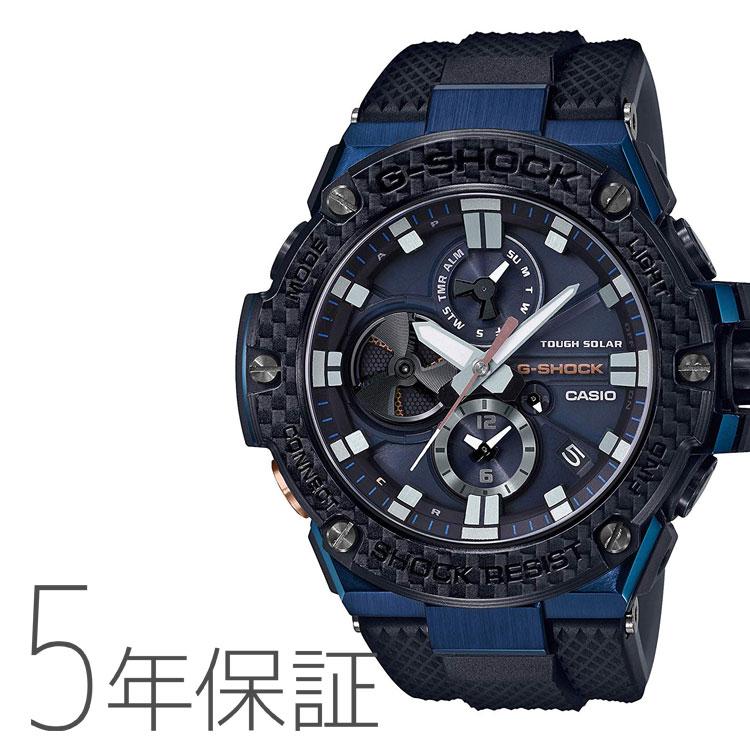 G-SHOCK Gショック カシオ CASIO G-STEEL タフソーラー 腕時計 メンズ GST-B100XB-2AJF