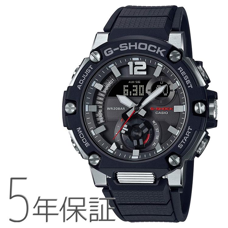 送料無料 G-SHOCK Gショック GST-B300-1AJF CASIO カシオ G-STEEL 腕時計 ブラック 店 激安 激安特価 送料無料 カーボンコアガード スマホ連携 黒 メンズ