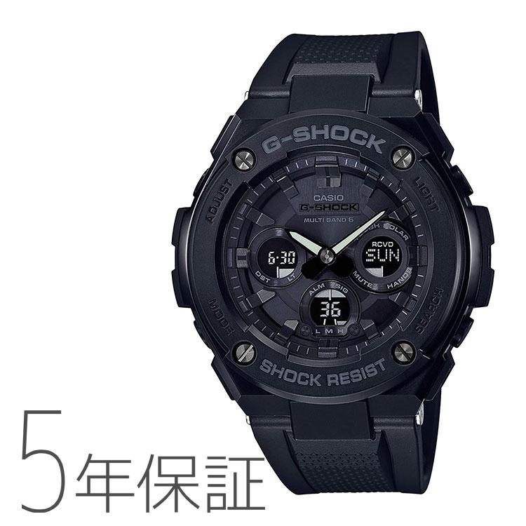 G-SHOCK g-shock Gショック GST-W300G-1A1JF カシオ CASIO G-STEEL Gスチール ソーラー電波時計 黒 ブラック メンズ 腕時計 ペアモデル