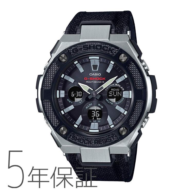 G-SHOCK g-shock Gショック GST-W330AC-1AJF カシオ CASIO 電波ソーラー G-STEEL Gスチール 黒 ブラック メンズ 腕時計
