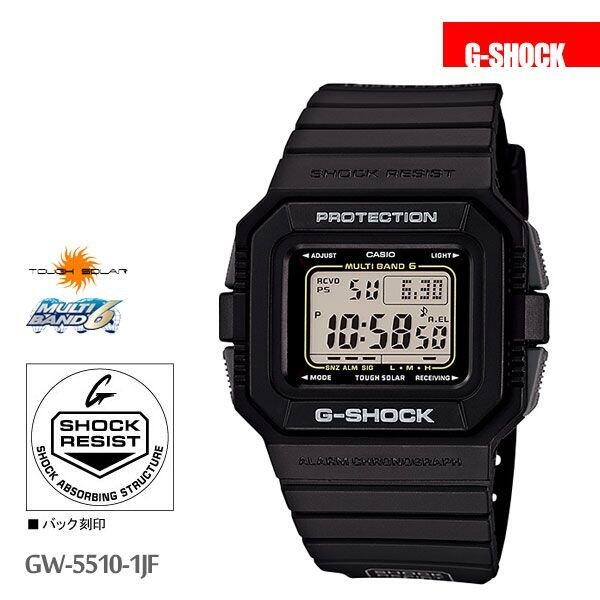 [Japanese authentic] [DM Express unavailable] [Free Delivery in Japan (excluding Hokkaido, Okinawa and outlying islands)] CASIO G-SHOCK GW-5510-1JF Men's  Wristband watch