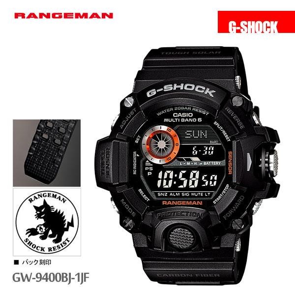 カシオ CASIO G-SHOCK g-shock Gショック レンジマン メンズ 腕時計 GW-9400BJ-1JF