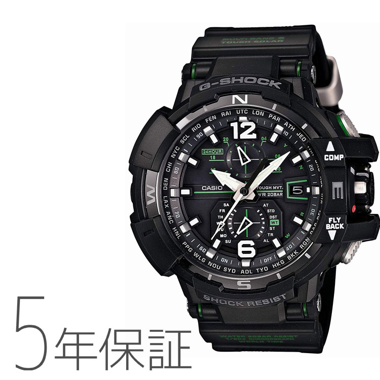 Five years guarantee Casio CASIO g-shock G-Shock electric wave radio time signal watch men GW-A1100-1A3JF