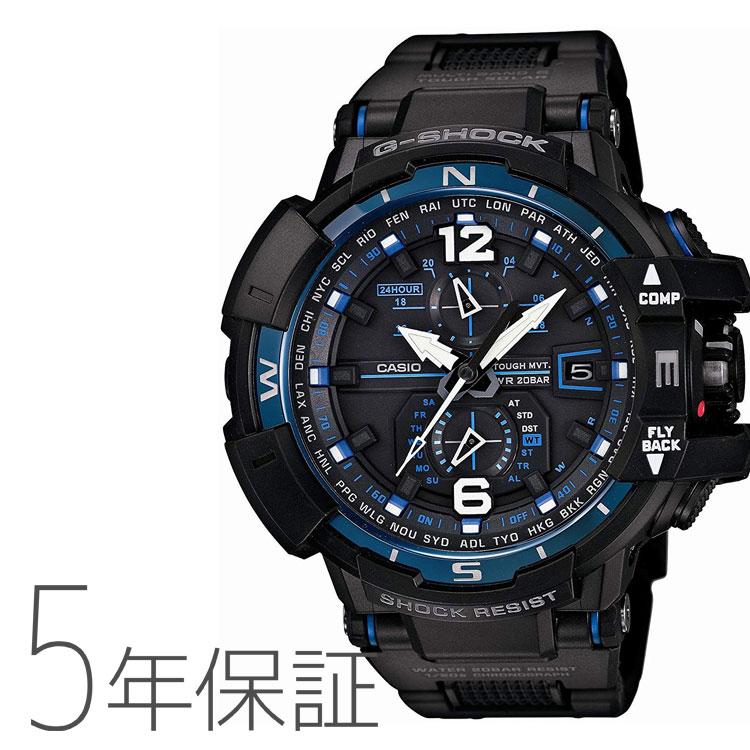 カシオ CASIO G-SHOCK G-SHOCKスカイコックピット GW-A1100FC-1AJF 男性用 メンズ 腕時計