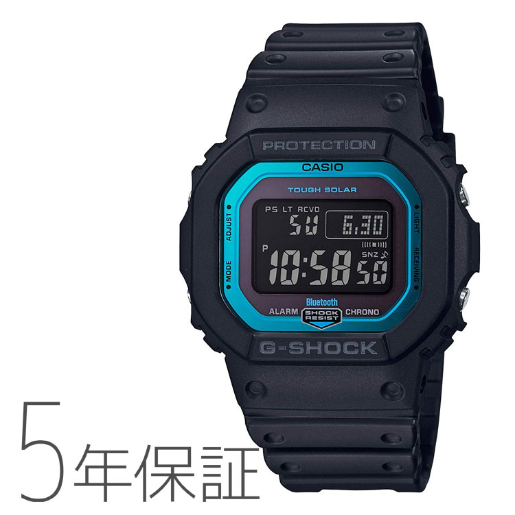 CASIO カシオ G-SHOCK Gショック Bluetooth タフソーラー モバイルリンク 電波腕時計 メンズ GW-B5600-2JF