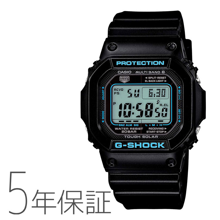 カシオ CASIO G-SHOCK g-shock Gショックブラック×ブルー GW-M5610BA-1JF メンズ 腕時計