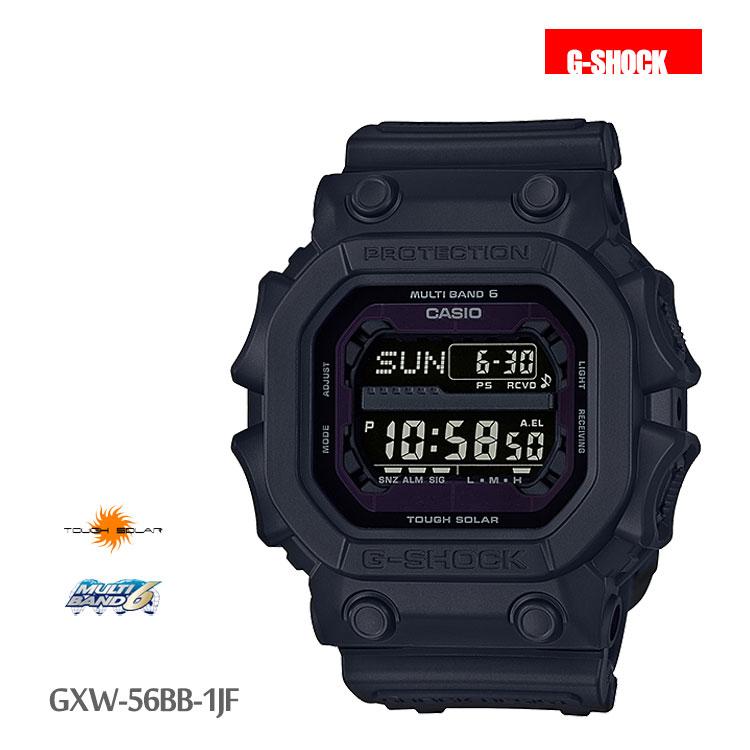 カシオ CASIO G-SHOCK Gショック 黒 GXW-56BB-1JF 腕時計