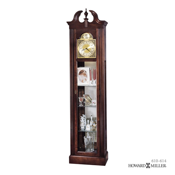 Charmant Watch Rest, Has Become A Storage Space With A Glass Door, So Perfect  Exhibitions Of Collections And Memorabilia. Elegant Howard Miller Clocks  Please Try ...