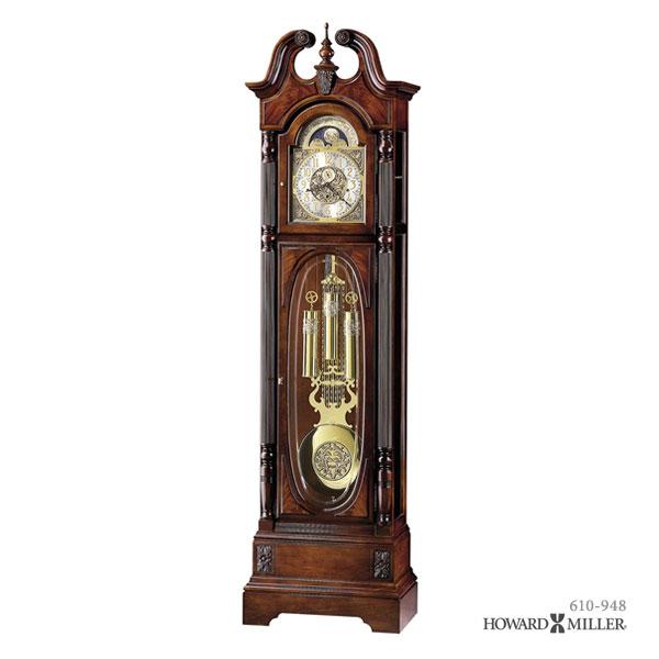 HOWARD MILLER ハワードミラー フロアクロック 大型置き時計 柱時計 STEWART スチュワート 610-948