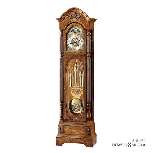 【同梱不可】 HOWARD MILLER ハワードミラー HOWARD フロアクロック 大型置き時計 CLAYTON 柱時計 CLAYTON 柱時計 クレイトン 610-950, 快眠ひろば:9f4139a4 --- blablagames.net