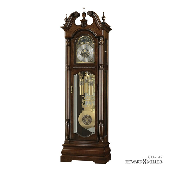 HOWARD MILLER ハワードミラー フロアクロック 大型置き時計 柱時計 EDINBURG 611-142