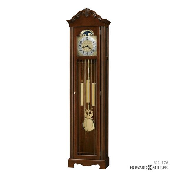 低価格 HOWARD 大型置き時計 MILLER ハワードミラー フロアクロック 大型置き時計 柱時計 柱時計 NICEA NICEA 611-176, ファーストコレクション工房:8b6f2763 --- clftranspo.dominiotemporario.com