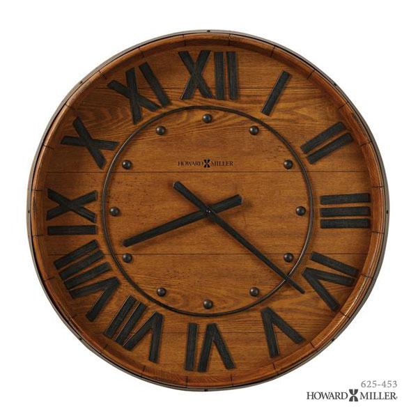 HOWARD MILLER ハワードミラー 大型掛け時計 掛時計 ウォールクロック WINE 625-453