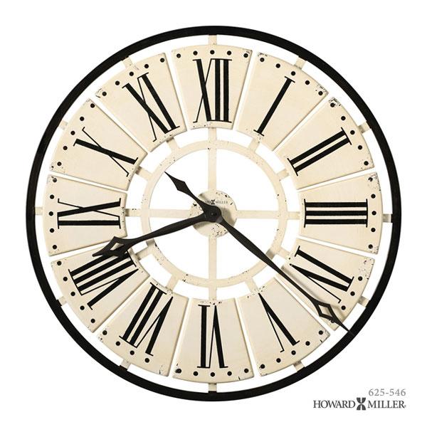 HOWARD MILLER ハワードミラー 大型掛け時計 掛時計 ウォールクロック PIERRE ピエール 625-546