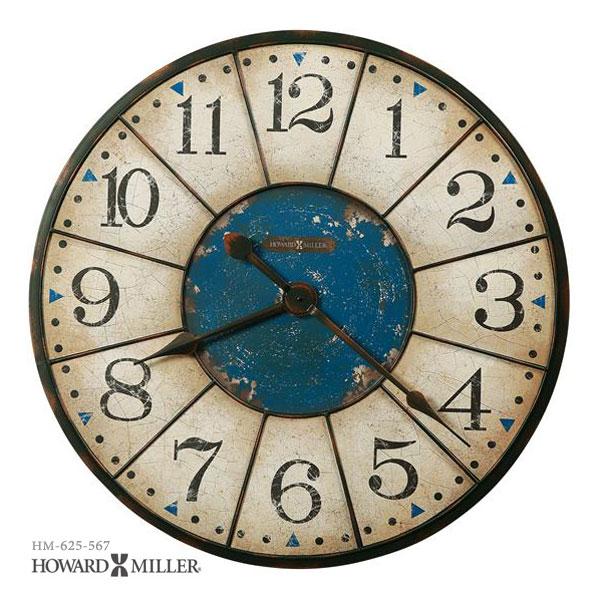 HOWARD MILLER ハワードミラー 掛け時計 掛時計 Balto 大型メタルクロック 625-567