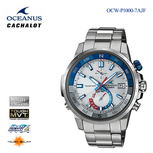 カシオ CASIO OCEANUS オシアナス カシャロ OCW-P1000-7AJF 男性用 メンズ 腕時計